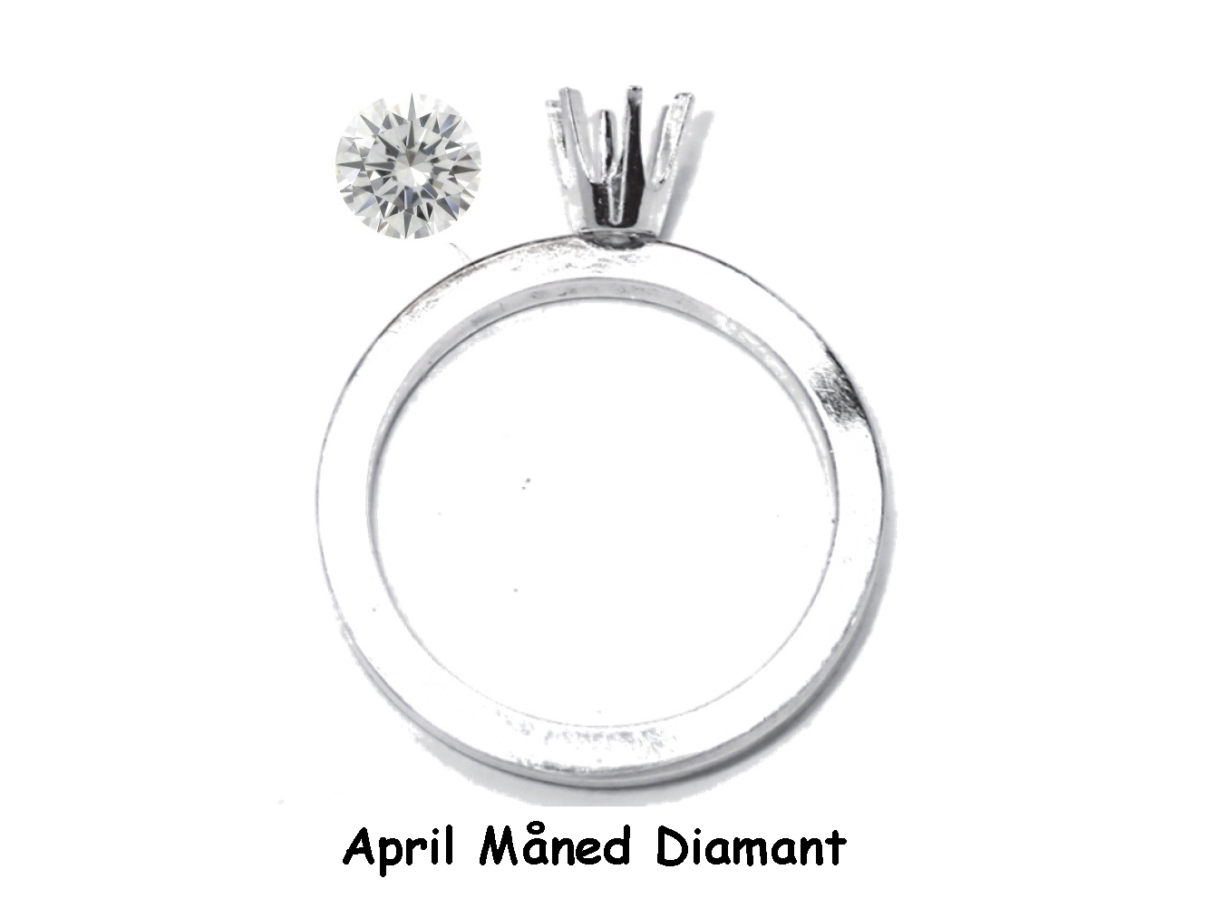 M04 April Diamant / Sølv