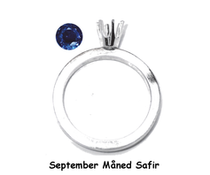 M09 September Safir / Sølv